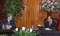 Le Premier ministre reçoit une délégation de la Commission de la pêche du Parlement européen
