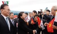 Nguyên Thi Kim Ngân arrivée en République de Corée