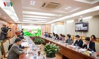 Un responsable de Diên Biên reçu par le président de VOV
