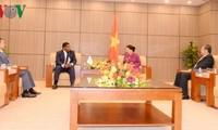 Rencontre entre Nguyên Thi Kim Ngân et le secrétaire général de l'UIP
