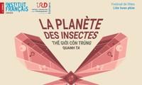 La planète des insectes projetée sur le grand écran