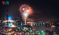 Têt 2019 : tirs de feux d'artifice dans 30 sites à Hanoi