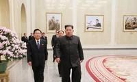 Anniversaire de Kim Jong-il : Kim Jong-un se rend au palais du Soleil
