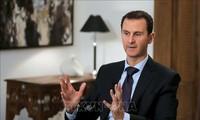 Rare visite du président syrien Bachar Al-Assad en Iran