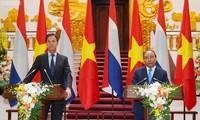 Le Vietnam et les Pays-Bas établissent un partenariat intégral