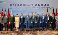 ASEAN-Chine : 25e consultation des officiels de haut rang
