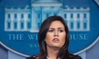 Donald Trump annonce le départ de Sarah Sanders, porte-parole de la Maison Blanche