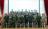 Maintien de la paix: Exercice militaire conjoint Vietnam-Inde