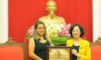 Truong Thi Mai reçoit une délégation du Parti socialiste unifié du Venezuela