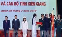 L'ordre de l'Indépendance remis à la province de Kiên Giang