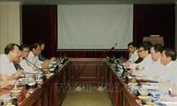 Vu Duc Dam à l'École normale supérieure de Hanoi