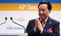 Le Chinois Qu Dongyu à la tête de la FAO