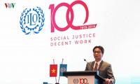 100 ans de l'OIT, la pensée de Hô Chi Minh sur le travail et la sécurité sociale