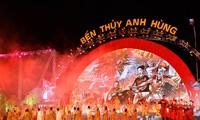 Le programme artistique «L'embarcadère Thuy héroïque» à Nghê An