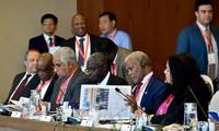 Rencontre des ambassadeurs des pays du Moyen-Orient et de l'Afrique