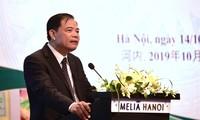 Agriculture : entretien entre Nguyên Xuân Cuong et Han Changfu