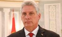 Le président cubain au Kremlin pour réaffirmer les liens stratégiques
