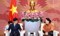 Nguyên Thi Kim Ngân reçoit le gouverneur de la préfecture de Gunma
