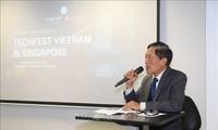 Vietnam-Singapour: Promouvoir la connexion technologique et les start-up