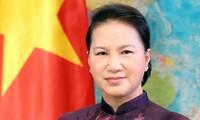 Nguyên Thi Kim Ngân reçoit le gouverneur du Land Hesse (Allemagne)