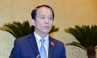 Hoàng Thanh Tùng élu président de la commission juridique de l'Assemblée nationale