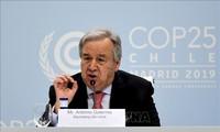 COP25: le monde doit choisir entre «espoir» et «capitulation» selon Guterres