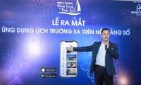 Lancement de l'application de calendrier Truong Sa
