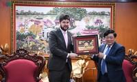 Renforcer la coopération avec VOV est une priorité de l'Unesco