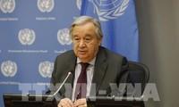 Coronavirus: le patron de l'ONU alerte sur les risques de récession mondiale