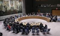 Premier vote par écrit du Conseil de sécurité des Nations Unies