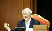 Nguyên Phu Trong souligne l'importance de la sélection des cadres dirigeants du pays