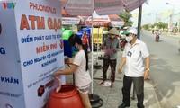Les distributeurs automatiques de riz au Vietnam