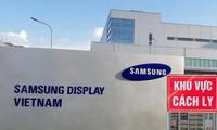 Samsung Display Vietnam salue le combat anti-Covid-19 mené par le Vietnam