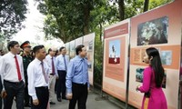 Exposition sur le Président Hô Chi Minh