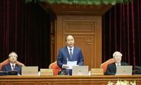 Douzième plénum du comité central du PCV, 12e exercice: le premier jour