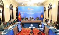 ASEAN : Visioconférence des officiels militaires de haut rang