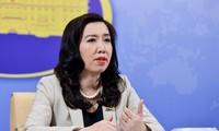 Le Vietnam appelle à la fin des agissements de la Chine en mer Orientale