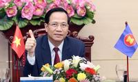 Covid-19 : visioconférence extraordinaire des ministres du Travail de l'ASEAN