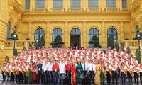 Dang Thi Ngoc Thinh rencontre des donneurs de sang