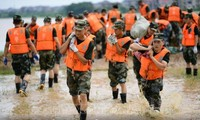 Plus de 7.000 soldats dépêchés pour lutter contre les inondations dans l'est de la Chine