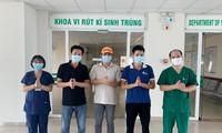Covid-19: trois nouvelles guérisons confirmées au Vietnam
