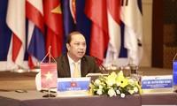 Visioconférence des hauts officiels de l'ASEAN + 3
