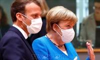 """Sommet européen: Macron et Merkel gardent """"l'espoir"""" d'un compromis"""