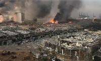 Double explosion à Beyrouth: une aide d'urgence internationale de 250 millions d'euros