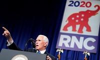 Mike Pence accepte la nomination du Parti républicain pour un second mandat de vice-président des États-Unis