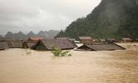 Des dégâts considérables causés par les crues et les inondations dans le Centre
