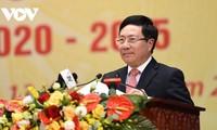 Pham Binh Minh au Congrès du parti pour la province de Thai Nguyên