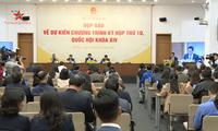 Ouverture de la 10e session de l'Assemblée nationale, 14e législature