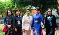 Activités de l'épouse du Premier ministre japonais au Vietnam
