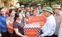 Crues: Le gouvernement vietnamien vient au secours des sinistrés